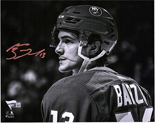Mathew Barzal New York Islanders Autographed 8