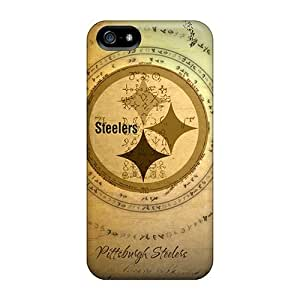 Fashion KseKvxF1423klqDO Case Cover For Iphone 5/5s(steelers)