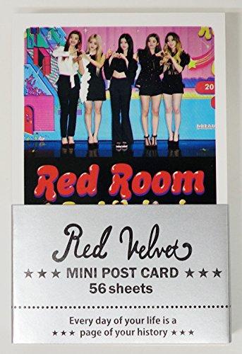 RED VELVET - MINI POSTCARD PHOTOCARD SET 56pcs (Red Collection Velvet)
