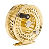 Red Truck Fly Fishing Premium Trout Fly Reel, Gold (5/6)