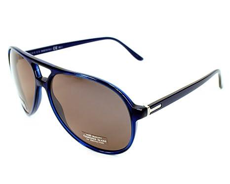 d564fe3bfb674e Gucci - Lunettes de soleil - Homme Bleu bleu  Amazon.fr  Vêtements ...