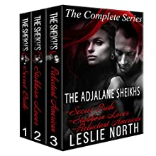The Adjalane Sheikhs: The Complete Series Box Set Audiobook by Leslie North Narrated by Nicholas Thurkettle