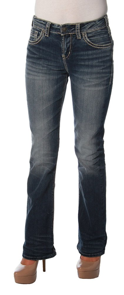 Silver Jeans Co. Suki High Boot Jeans 27