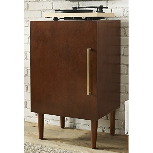 Mahogany Wood Console Table (Crosley Furniture Everett Record Player Stand - Mahogany)