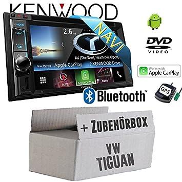 VW Tiguan - Kenwood DNX5160BTS - 2DIN Navigation Bluetooth DVD Apple