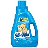 Snuggle Liquid Fabric Softener with Fresh Release, Blue Sparkle, 50 Fluid Ounce