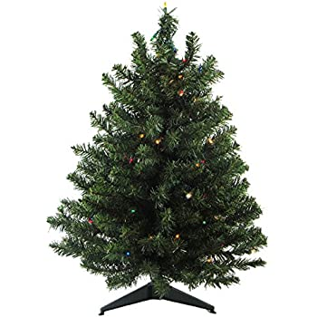 Amazon.com: Vickerman 11261871 Pre-Lit Canadian Pine Artificial ...