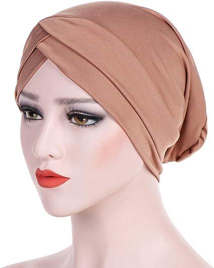 Turban Chimio Femme Bonnet Musulmanes Wrap Hijib Cap