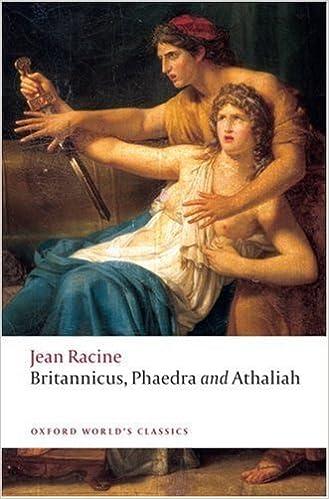 Britannicus, Phaedra, Athaliah (Oxford World's Classics) by Jean Racine (2009-07-26)