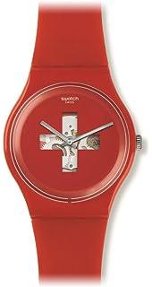 Swatch Mens Quartz Analog Watch SUOR106