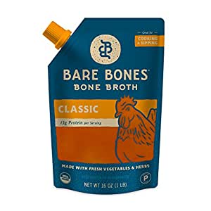 Bare Bones Broth Co. Organic Paleo Chicken and Vegetable Broth (6 Pack)
