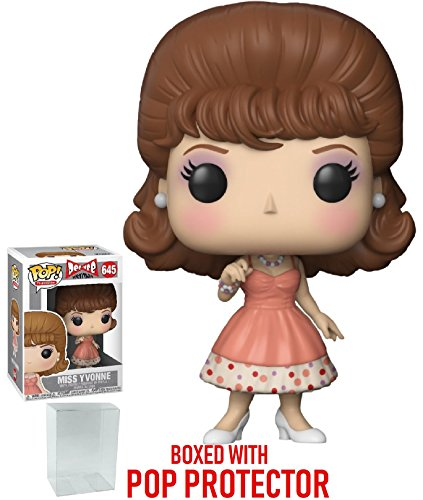 Vinyl Monster Miss Figure - Funko Pop! Pee-Wee's Playhouse - Miss Yvonne Vinyl Figure (Bundled with Pop Box Protector Case)