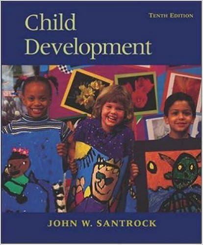 Child development, 10th edition by santrock, john w. : mcgraw hill.