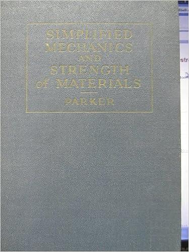 Descargas gratuitas de libros de ipad. Simplified mechanics and strength of materials. PDF B002261RKC