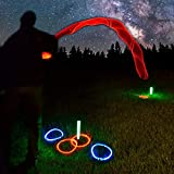 GlowCity Light Up LED Ring Toss Game