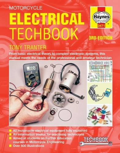 Motorcycle Parts Book - Motorcycle Electrical Techbook