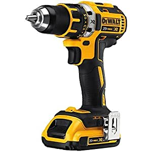 DEWALT DCD790D2 20V MAX XR Lithium-Ion Brushless Compact Drill/Driver Kit by DEWALT