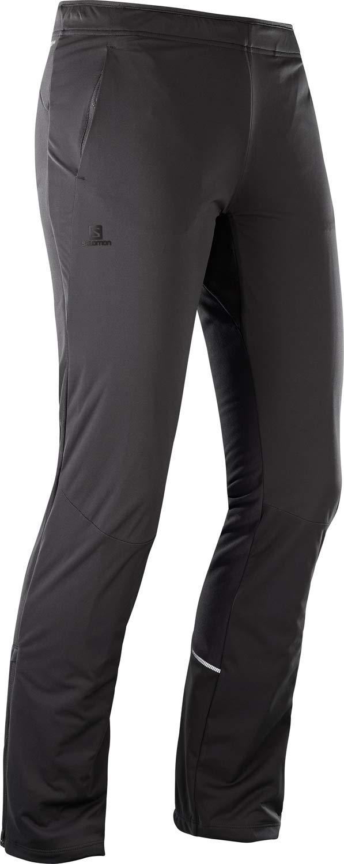 Salomon Agile Warm Pant W - Pantalón, Mujer, Negro(Black)