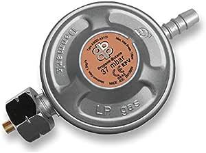 Regulador de presión de gas, 37 mbar, 1,5 kg/h propano, butano, regulador, reductor de presión
