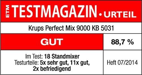 Krups Batidora KB 5031 1.5L 850W, 850 W, 1.5 litros, 0 Decibelios ...