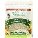 Frontier Organic Packaged Spices Sage Leaf Rubbed, 11 g (Pack of 3)