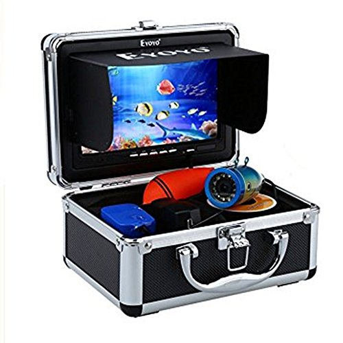 Eyoyo Original 50m Professional Fish Finder Underwater Fishing Video Camera 7″ Color HD Monitor 1000TVL HD CAM Infrared Light