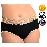 High Waist Postpartum Underwear & C-Section Recovery Maternity Panties (Mediu...