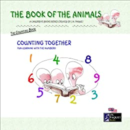 The Book of The Animals - Counting Together by [Paquet, J.N.]