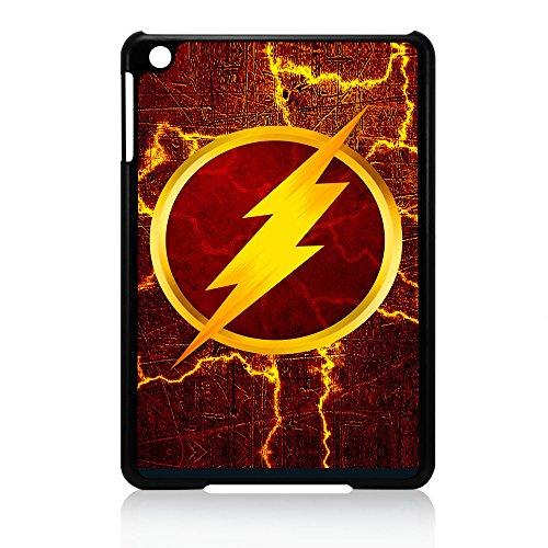( For iPad mini 1 / 2 / 3) Back Case Cover - HOT30060 Superhero Flash