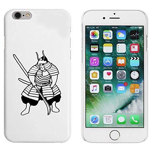 Blanc 'Guerrier Samouraï' étui / housse pour iPhone 6 & 6s (MC00089695)