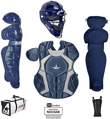 All-Star Youth Players Series Catcher Kit Ages 9-12 Navy