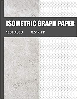isometric graph paper isometric grid paper ideal for use as 3d