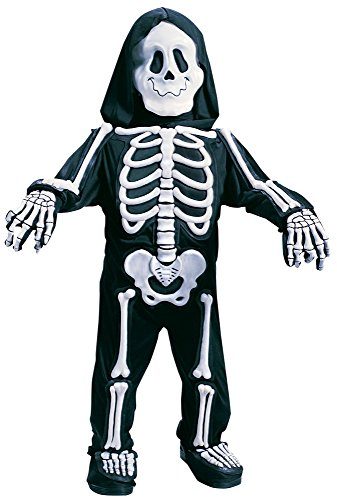 Fun World Costumes Baby Boy's Totally Skelebones, Black/White, (Scary Toddler Halloween Costumes)