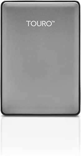 HGST Touro S 1TB 7200RPM High-Performance Portable Drive, Platinum (0S03694)