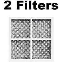 Fresh Air Replacement Refrigerator Air Filter for LG ADQ73214404 2 FILTERS