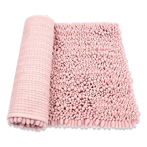 "Can Bathroom Rugs Go In The Dryer: HomDSim 30"" X 20"" Shaggy Bathroom Bath Shower Rugs Mat"