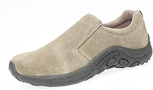 Mens Real Suede Slip ON Casual Shoes
