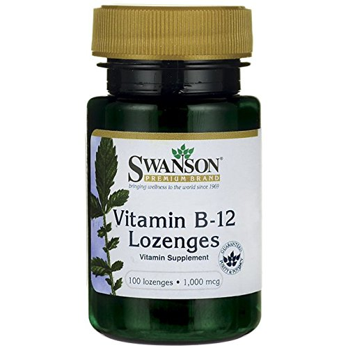Vitamin B-12 Lozenges 1,000 mcg 100 Loz