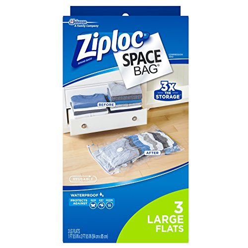 Ziploc Space Flat Large Count product image