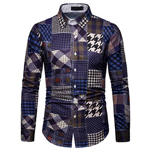 T Shirts for Men Funny,MILIMIEYIK Blousess Men's Shirt