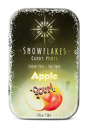 Review Snowflakes Xylitol Candy (Sour