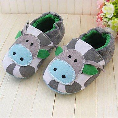 YU&YU Zapatos de bebé Informal Tejido Mocasines Multi-color , Multi Color , US5.