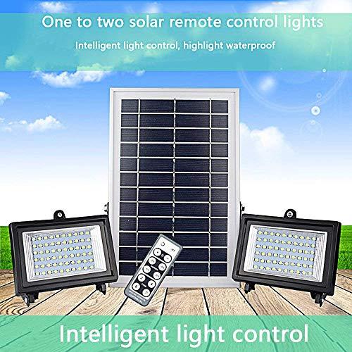 XAJGW 30 Luces solares LED, una Nueva generación de Luces para Exteriores con Sensor de Movimiento, Panel Solar líder en la...