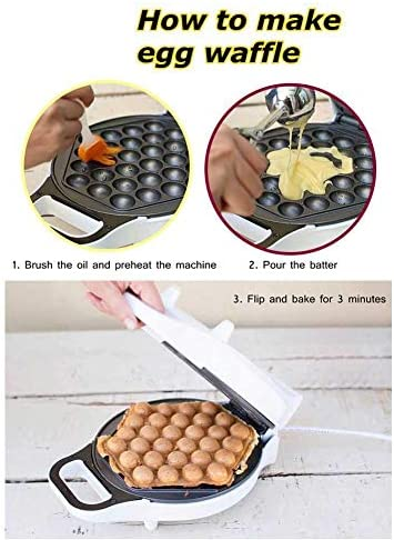 gaufrier aux œufs de ménage 11 pouces gaufrier aux œufs gaufrier/mini gaufrier, gaufrier belge antiadhésif bricolage, machine à gaufres citrouille