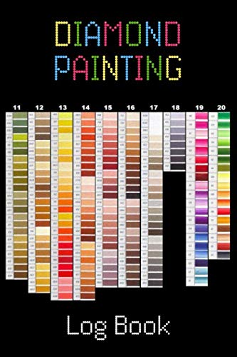 - Diamond Painting Log Book: [Deluxe Edition with Space for Photos] Color Chart Design