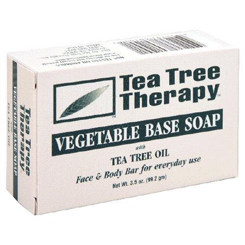 Tea Tree терапия: овощной базе мыло, масло чайного дерева, 3,5 унции