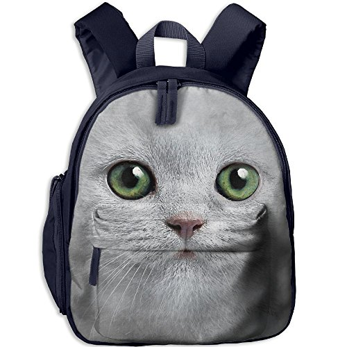 Small Student School Bags Backpack Daypack Cool With Cat Face Super Bookbag Break For Children Boys Girls - Place Tower Water In Chicago