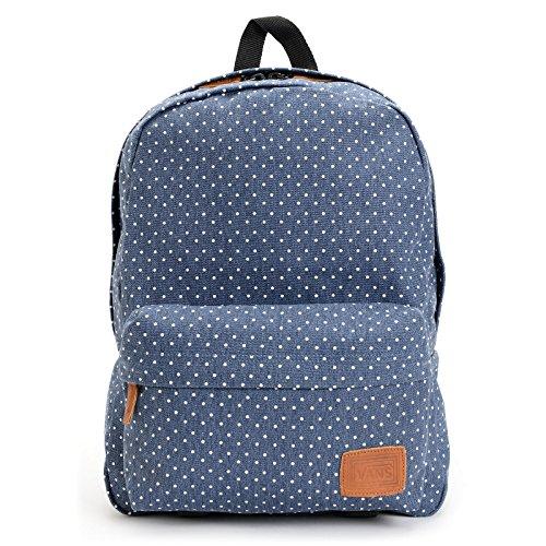 Vans Deana Polka Dot Print Blue Backpack