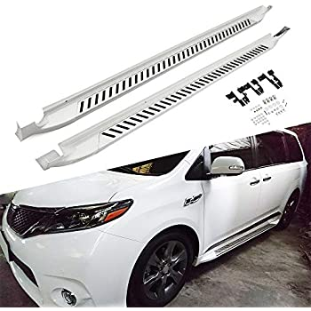 FITS 2011-2017 Toyota Sienna  Aluminum Running Boards Side Steps