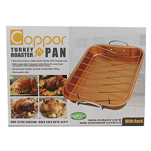 Copper Turkey Roaster Pan